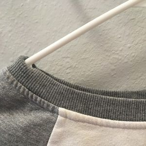 Garage Tops - Garage Grey and White Long Sleeve Small💛